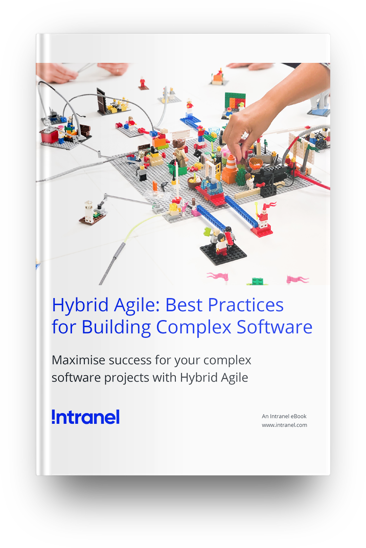 hybrid agile ebook cover